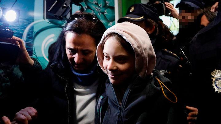 Greta Thunberg ya está en Madrid para encabezar la marcha sobre el Clima