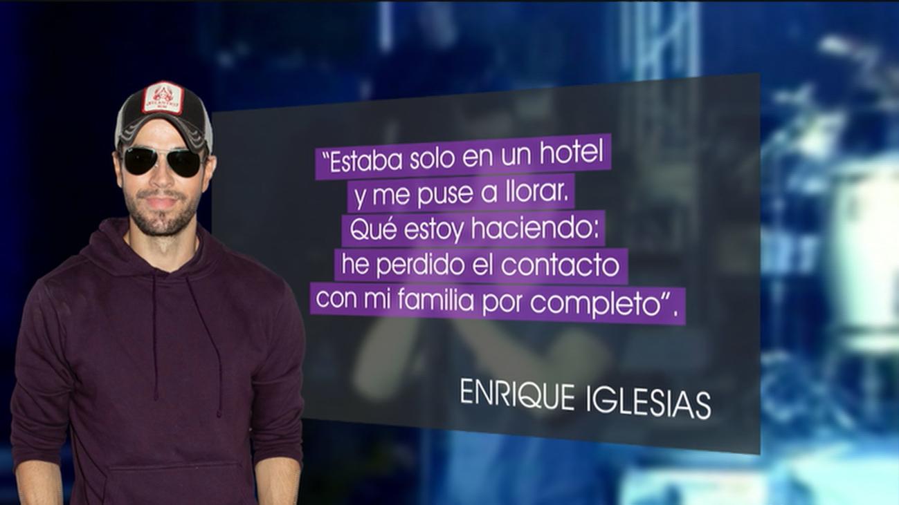 """La historia que hay detrás del éxito de Enrique Iglesias: """"Me separé de mi familia por completo"""""""