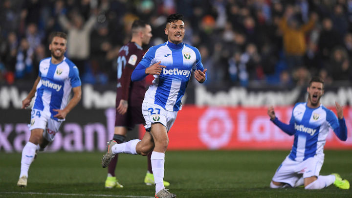 3-2. Óscar da la victoria al Leganés ante el Celta