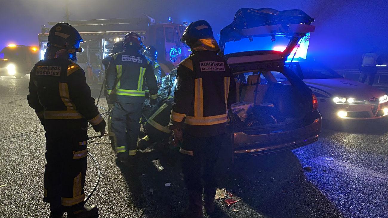 Prisión para el conductor que causó un muerto al circular en sentido contrario en Móstoles