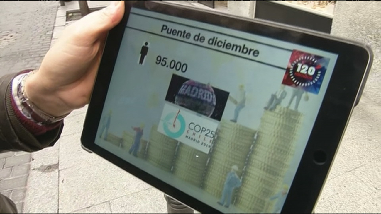 La Cumbre del Clima y el Puente de Diciembre dejan 25 millones de beneficio en Madrid