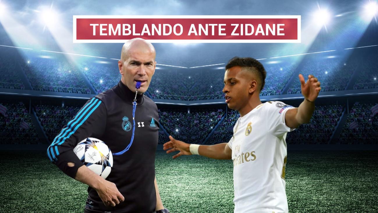 """Rodrygo: """"Cuando conocí a Zidane me puse a temblar"""""""