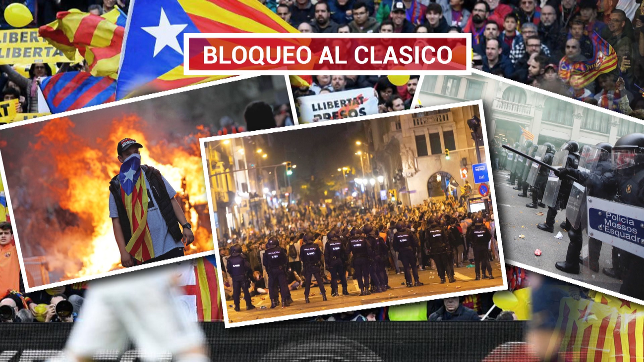 Tsunami llama a bloquear el Camp Nou durante el clásico