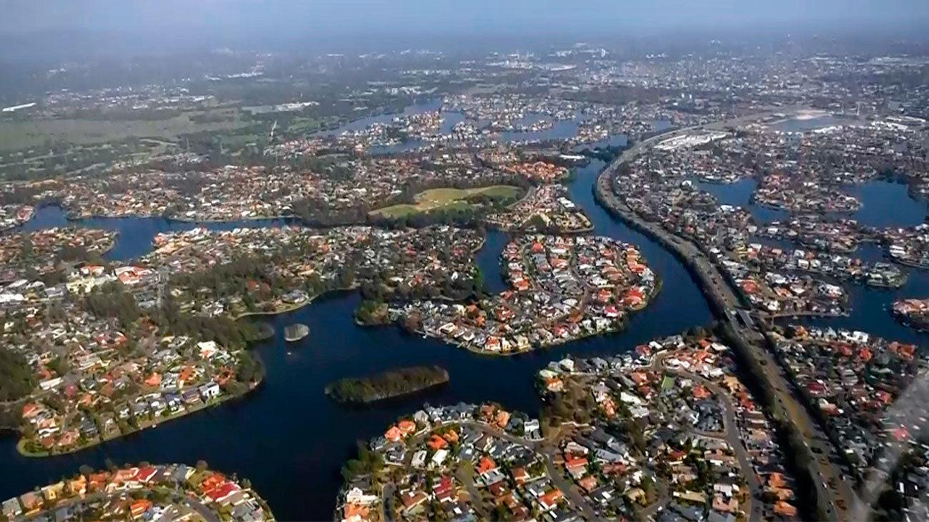 Gold Coast desde las alturas
