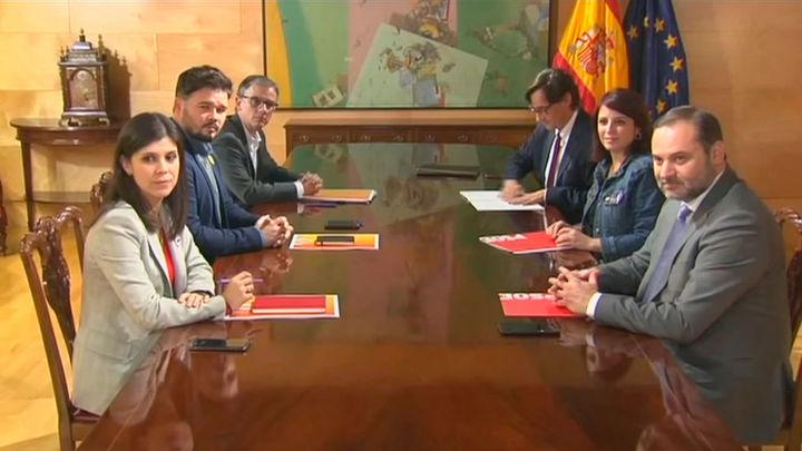 Texto íntegro del acuerdo entre el PSOE y ERC