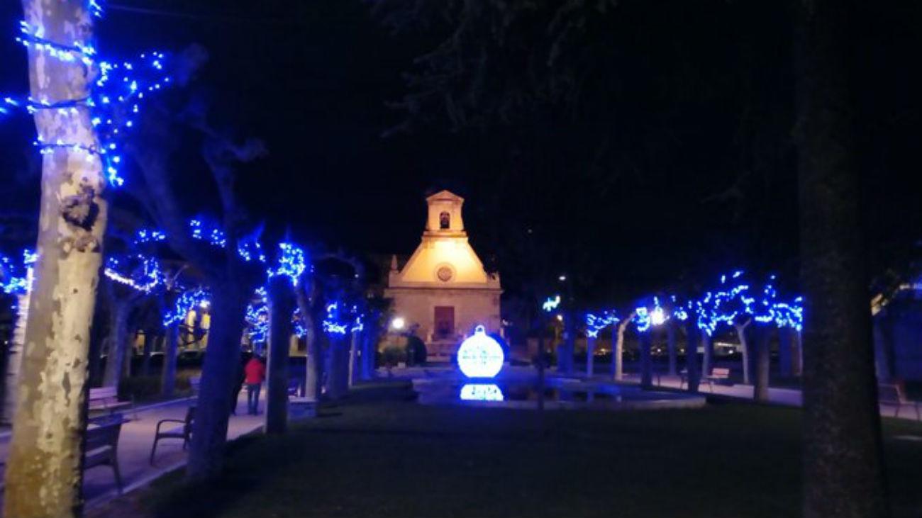 Iluminación navideña de Guadarrama