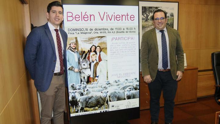 Las 'ovejas-bombero' participarán en el Belén Viviente de Boadilla