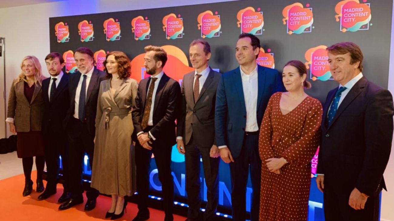 Se presenta 'Madrid Content City', la ciudad de la televisión en Tres Cantos