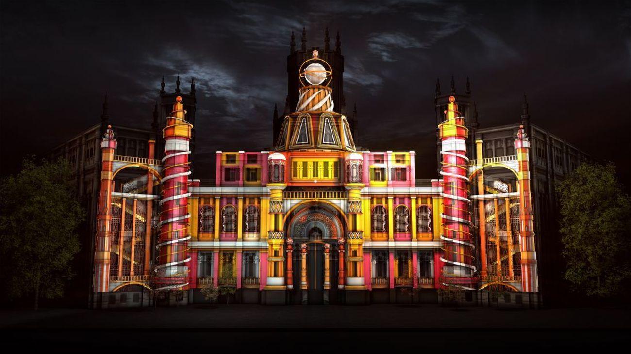 El Ayuntamiento de Madrid prepara un vídeo mapping en el Palacio de Cibeles