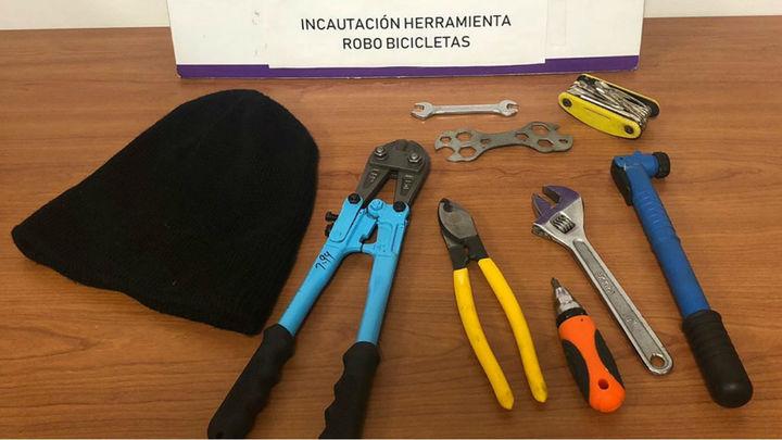 Tres detenidos en Torrejón por robar bicicletas