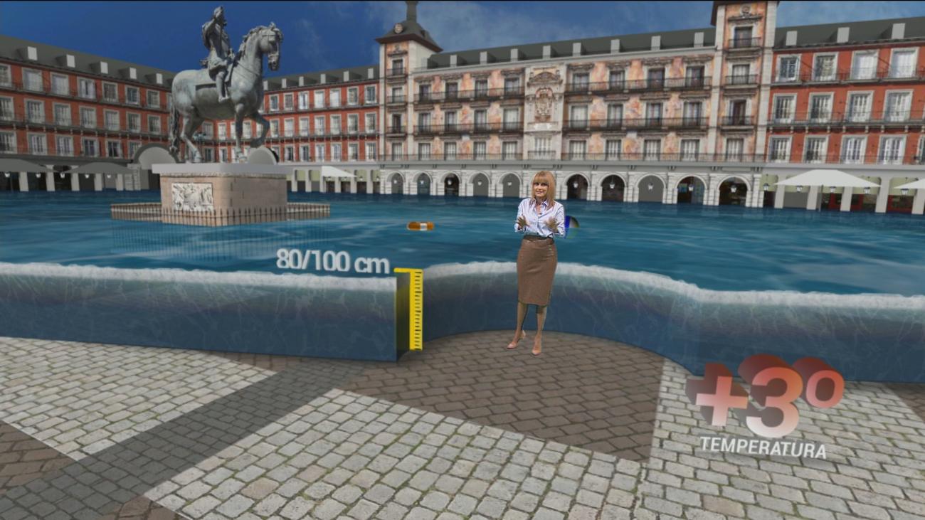 ¿Cómo afectará la subida del nivel del mar a Madrid?