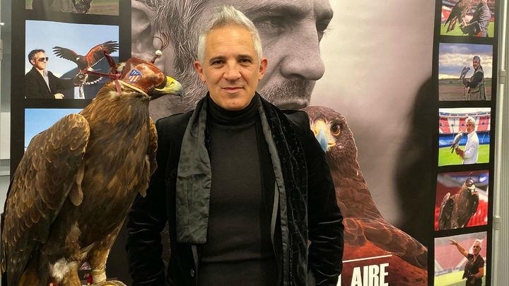 Hablamos con Jorge Castaño, halconero del Atlético