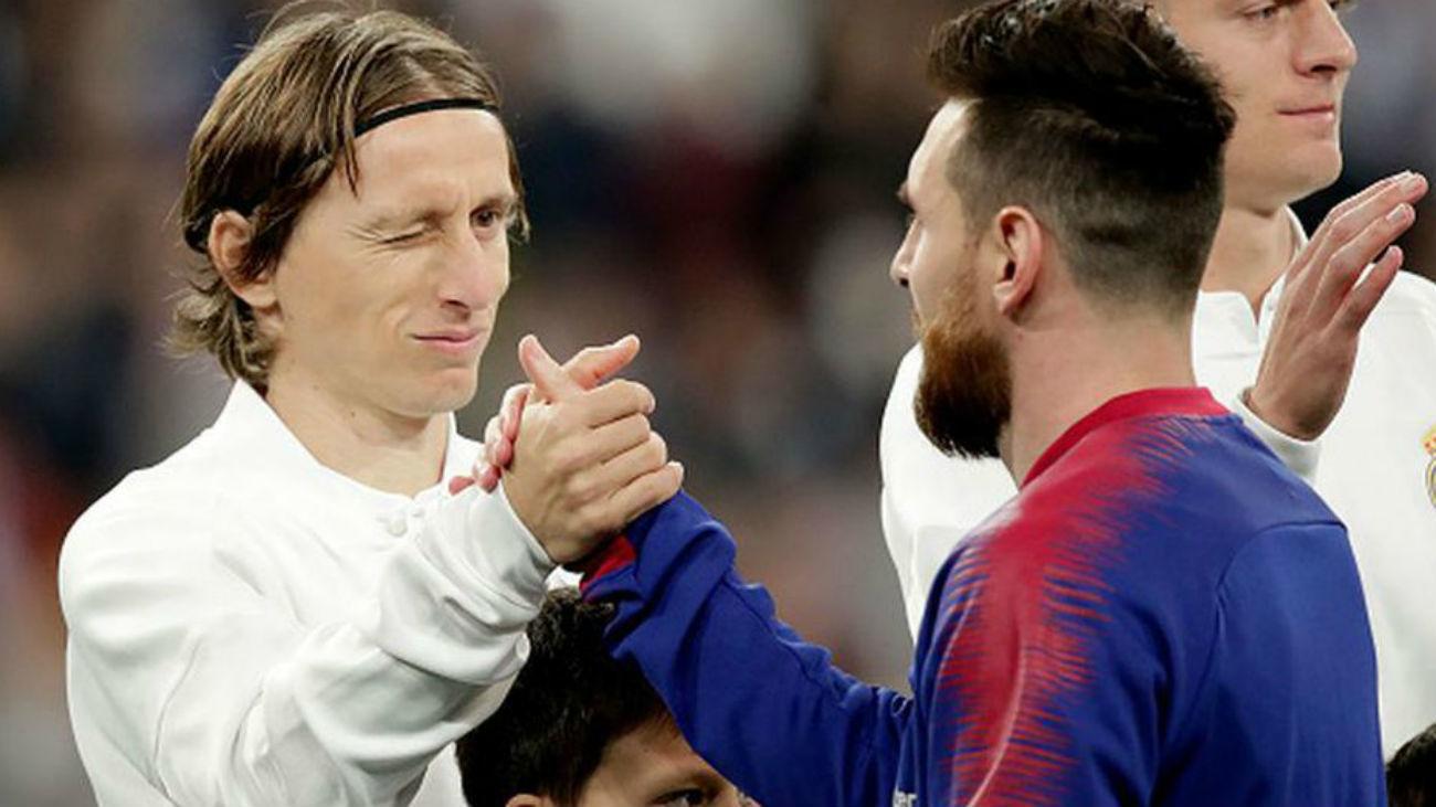 Modric y Messi