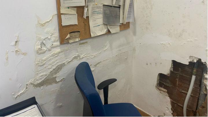 Los guardias civiles del cuartel de Galapagar denuncian el mal estado de su cuartel