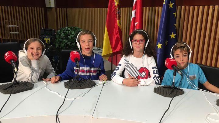 La radio del cole. Ciudad de Roma de Móstoles y Valdebernardo de Madrid. 14.12.2019.