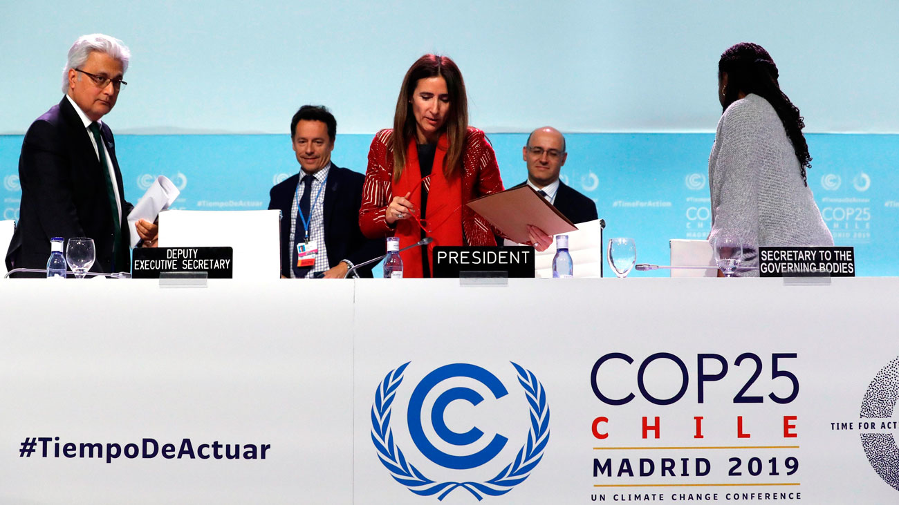 La Cumbre del Clima de Madrid concluye sin acuerdo sobre los mercados de carbono