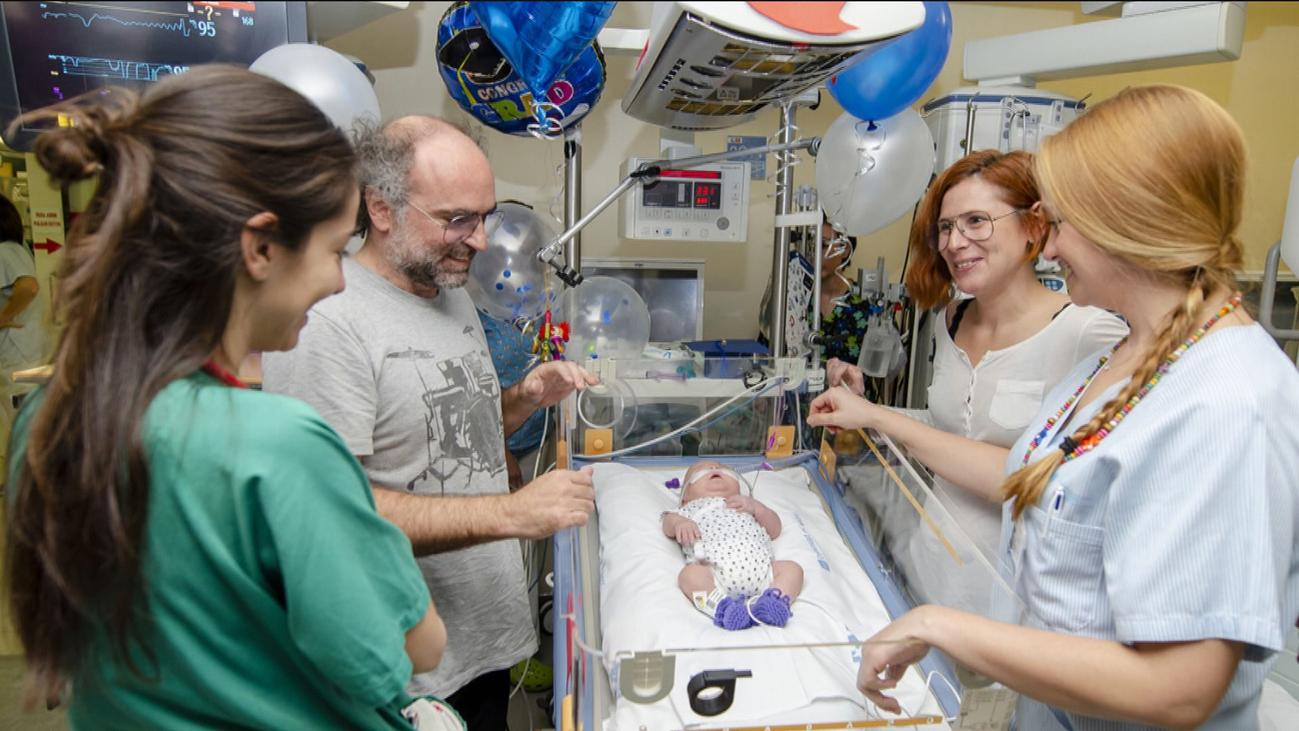 Salvador, el bebé superviviente del Gregorio Marañón