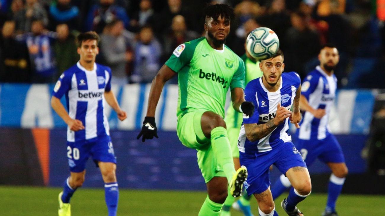1-1 . El Leganés se lleva un buen punto de Vitoria