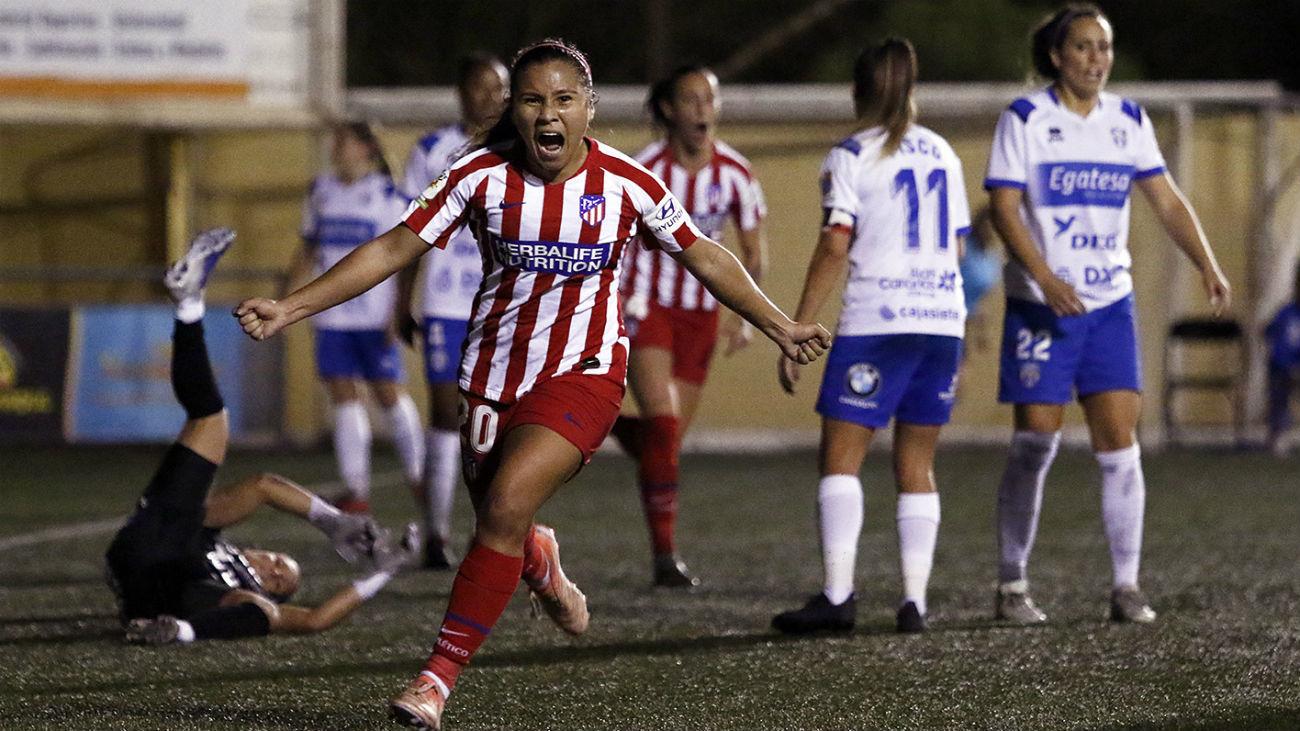 0-2. El Atlético de Madrid recobra el sabor de la victoria ante el Granadilla