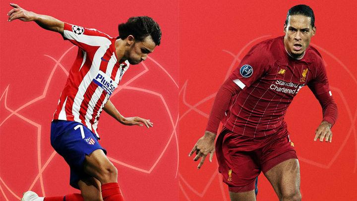 Liverpool, prueba de fuego para el Atlético de Madrid