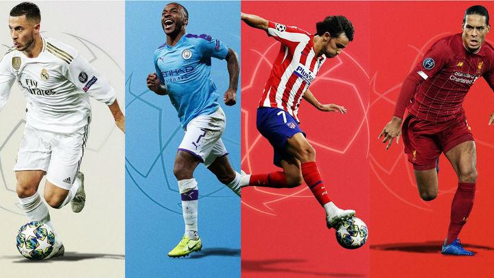 Real Madrid-Manchester City y Atlético-Liverpool, en octavos de la Champions