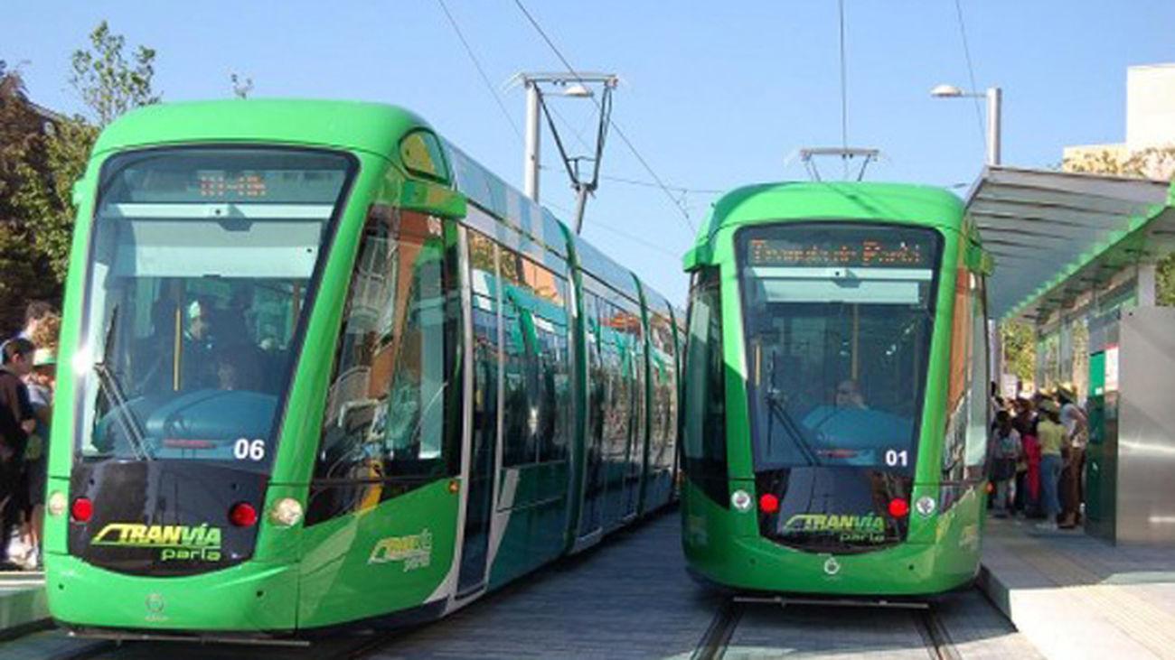 Los trabajadores de Tranvía de Parla inician su última semana de paros parciales