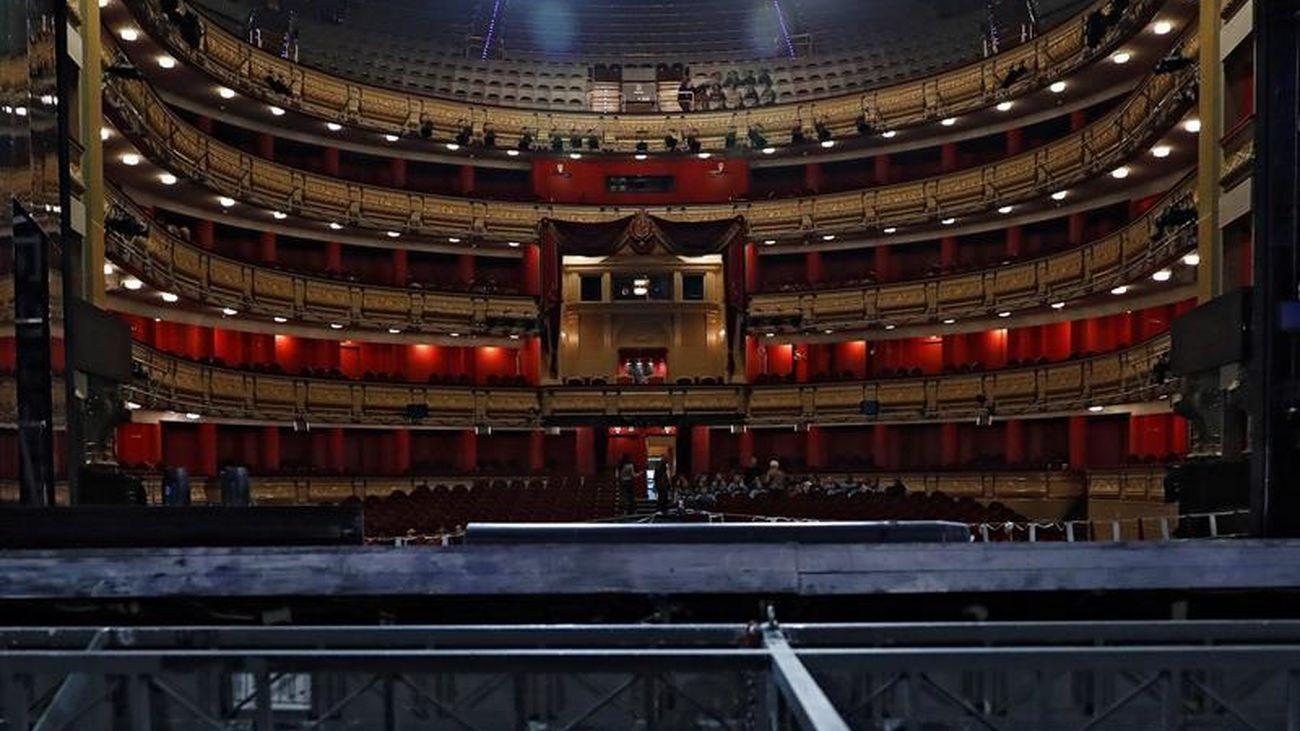 El Teatro Real, escenario del sorteo de la Lotería de Navidad