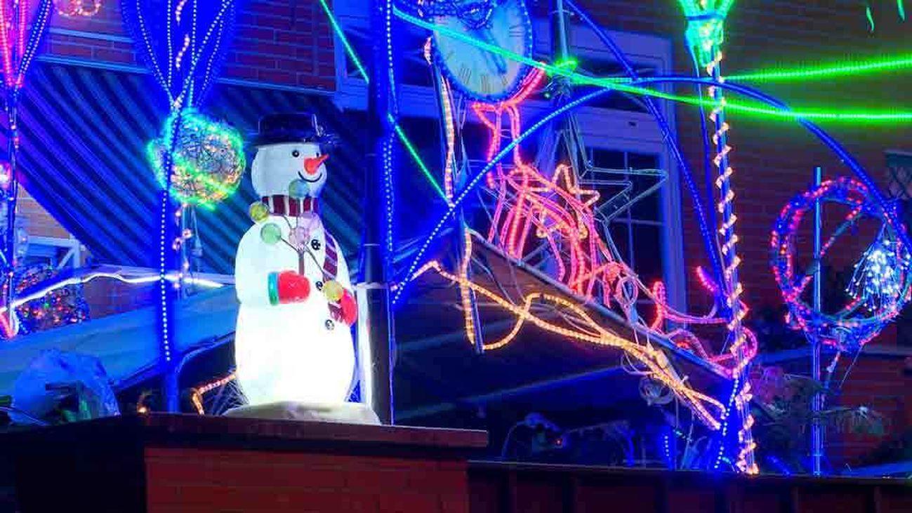 Navidad a la americana en San Fernando de Henares