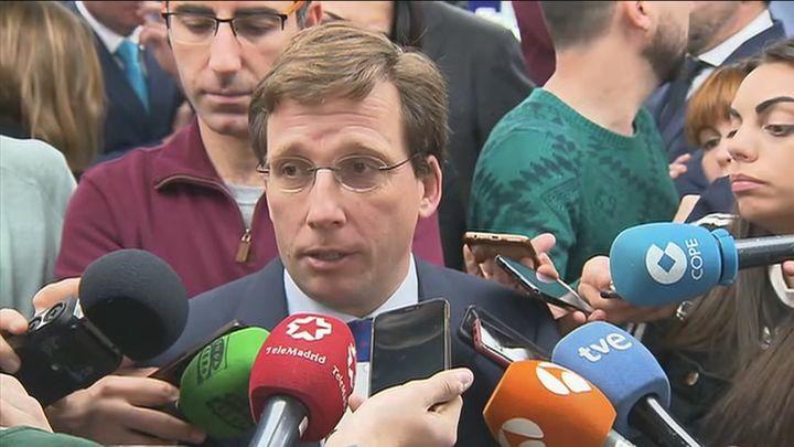 """Almeida no se plantea liderar el PP de Madrid y señala que """"no corresponde ahora"""""""
