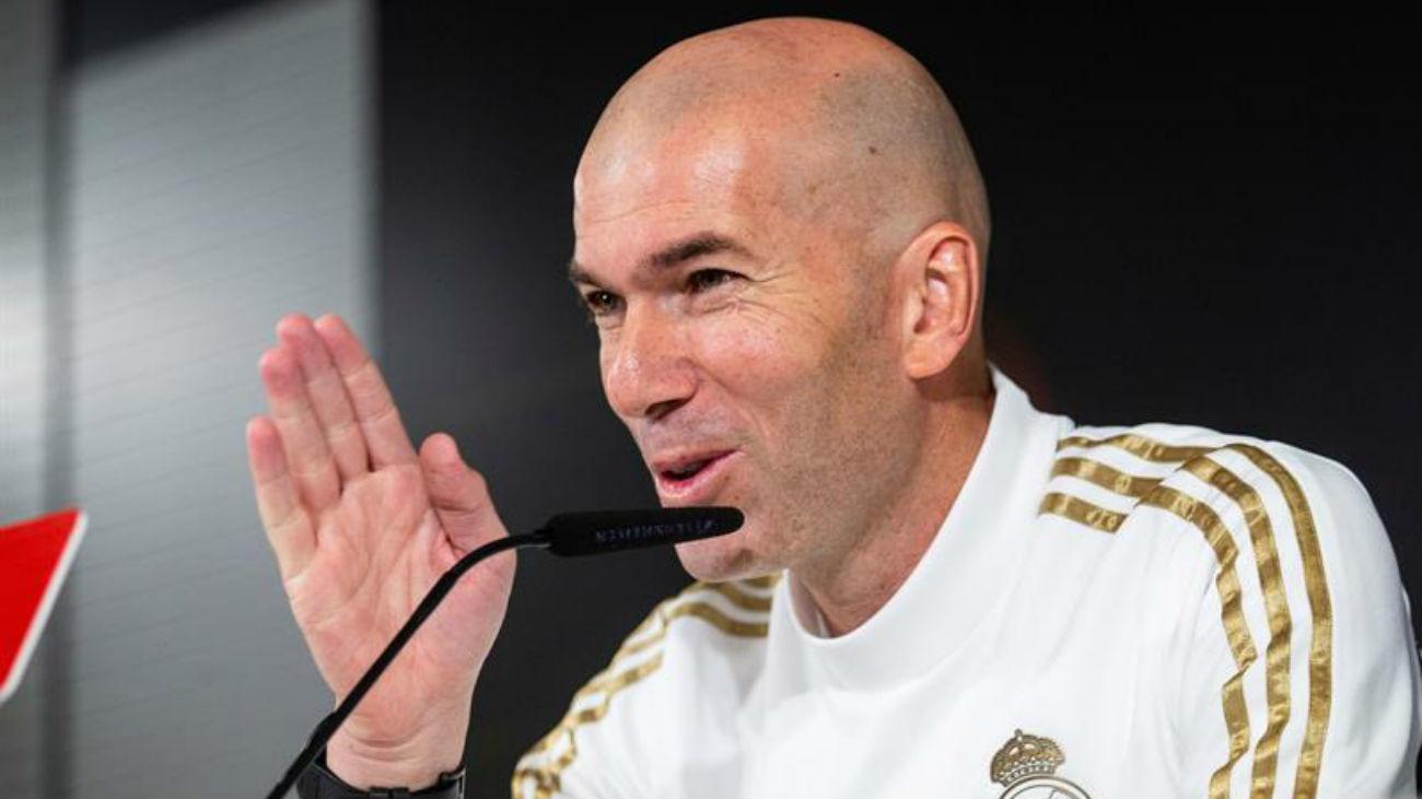 """Zidane y la seguridad en el clásico: """"No me preocupa nada"""""""