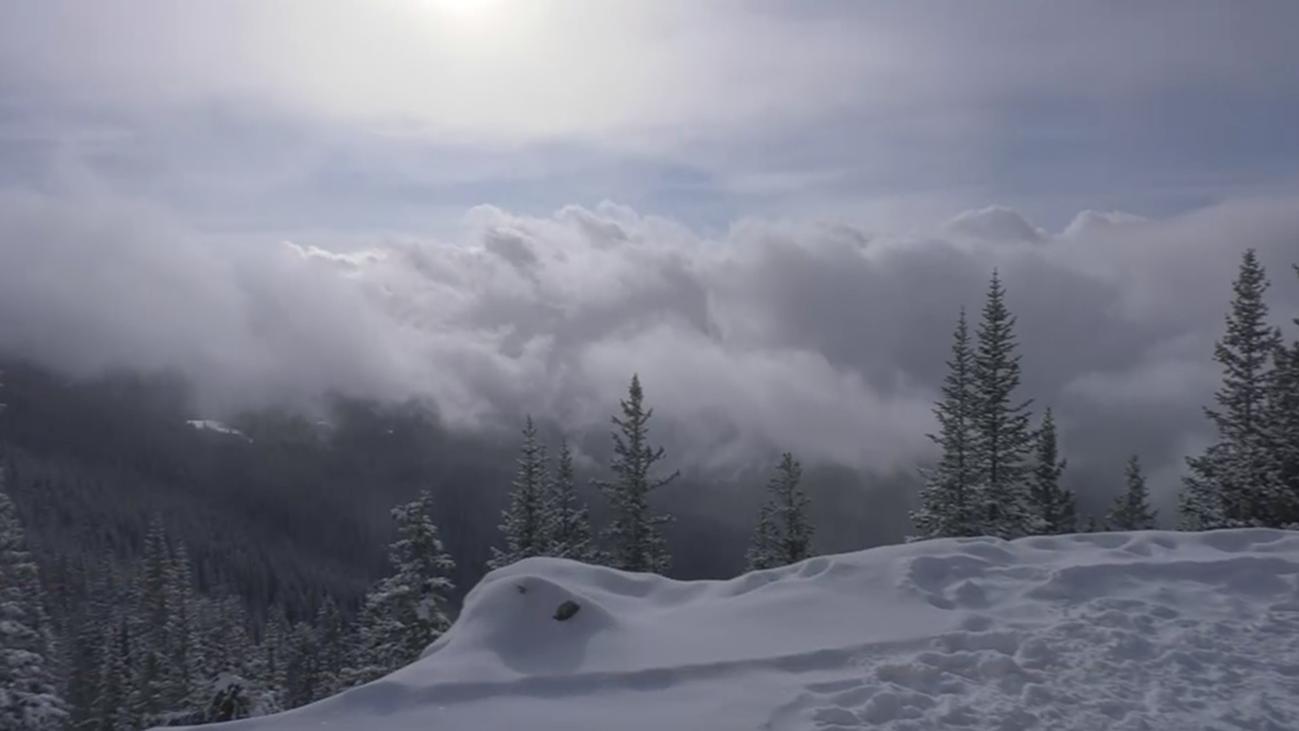 Esquiamos en las exclusivas montañas de Aspen