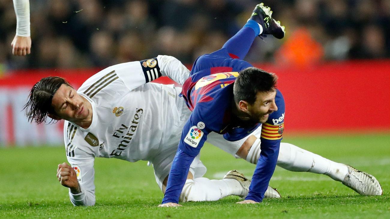 0-0. El Real Madrid se come al Barça, pero no encuentra el gol