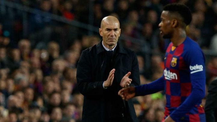"""Zidane: """"Perdonamos al Barcelona"""""""