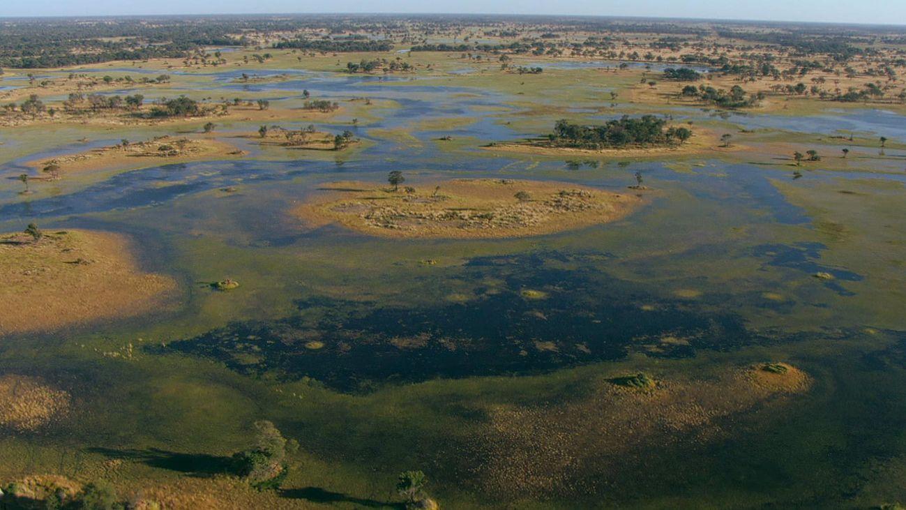 Paisajes de Botswana