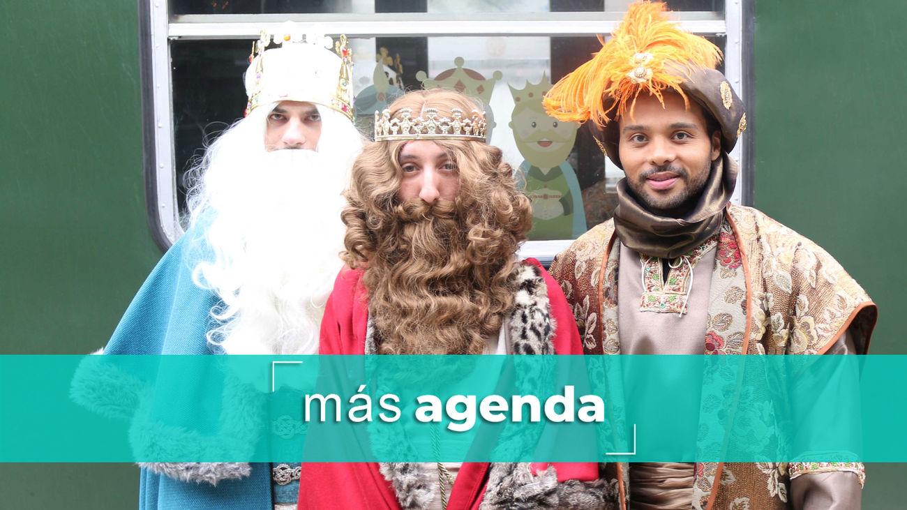 La agenda alternativa: Súbete al Tren de los Reyes Magos junto a Melchor, Gaspar y Baltasar