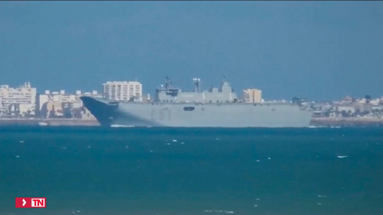 EEUU planea aumentar su presencia en la Base Naval de Rota