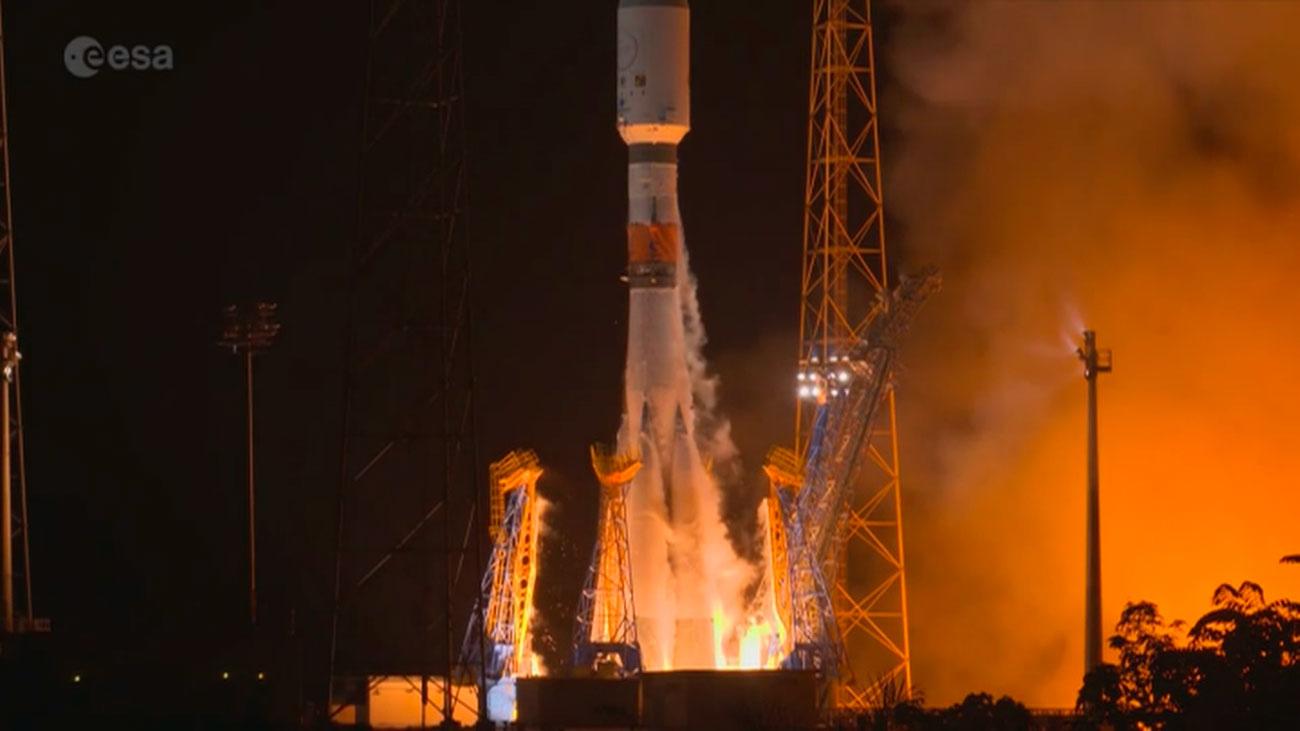 El satélite 'Cheops' ya está en órbita