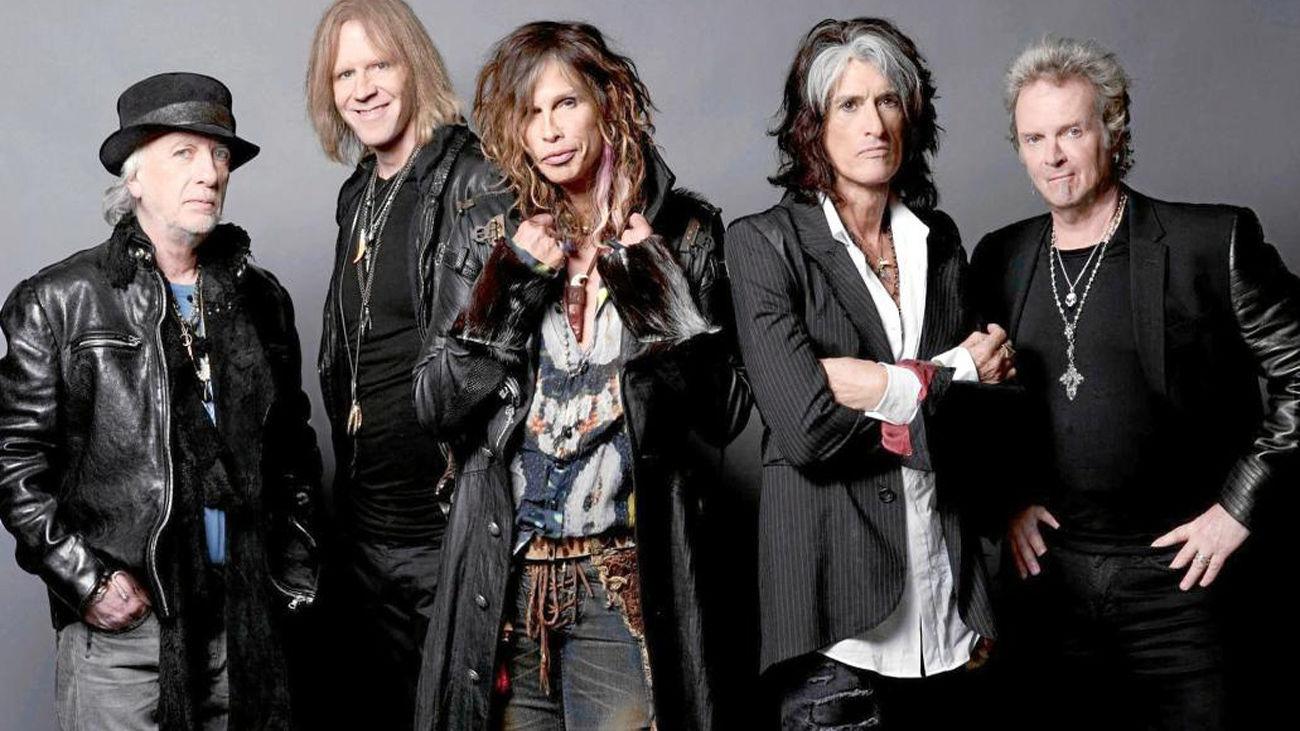 La legendaria banda de heavy rock Aerosmith