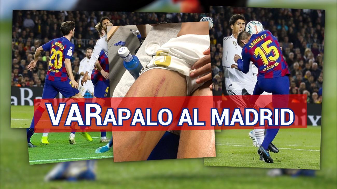 """El Real Madrid denuncia que """"ni el árbitro ni el VAR"""" vieron dos penaltis"""