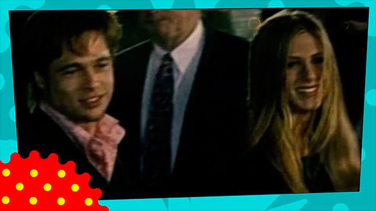 Brad Pitt y Jennifer Aniston, juntos por Navidad