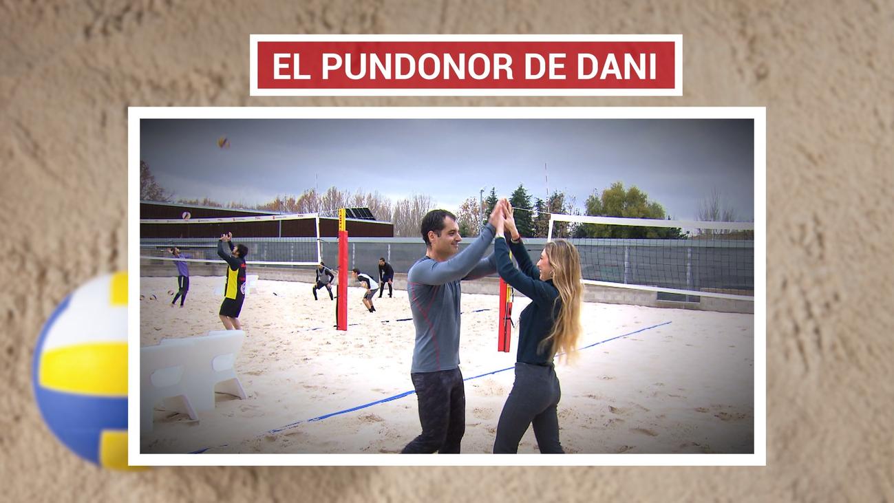El pundonor de Dani Fernández, sufre afasia y no puede oír ni hablar