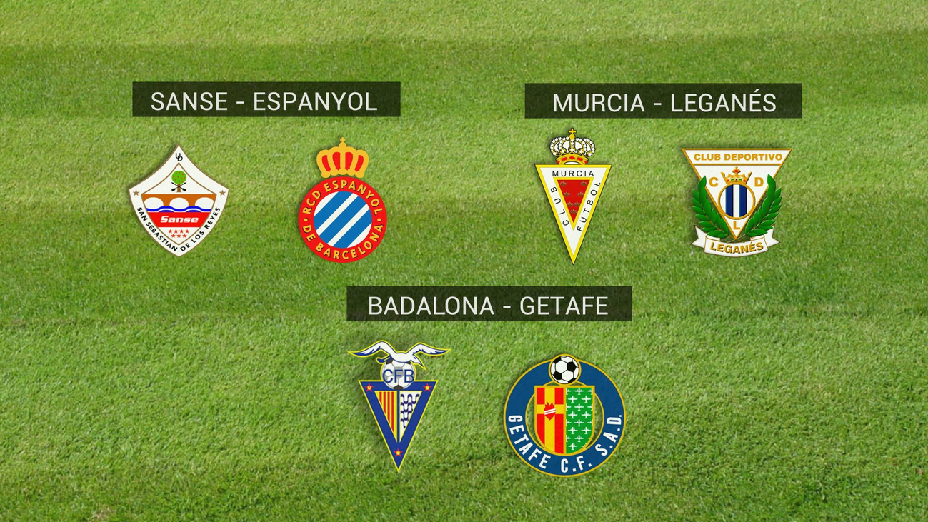Así ha quedado el sorteo de la Copa para los equipos madrileños