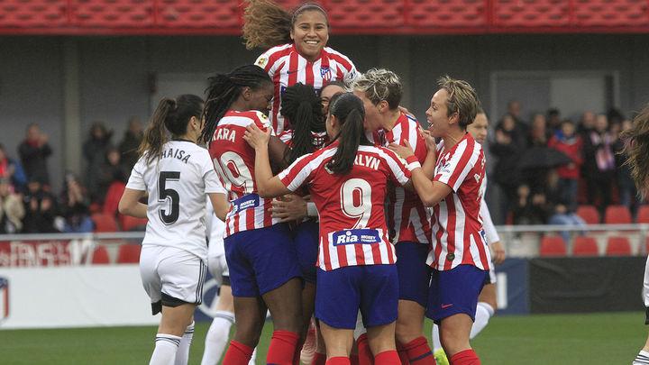 2-1. El Atlético Madrid Féminas se impone al Tacón