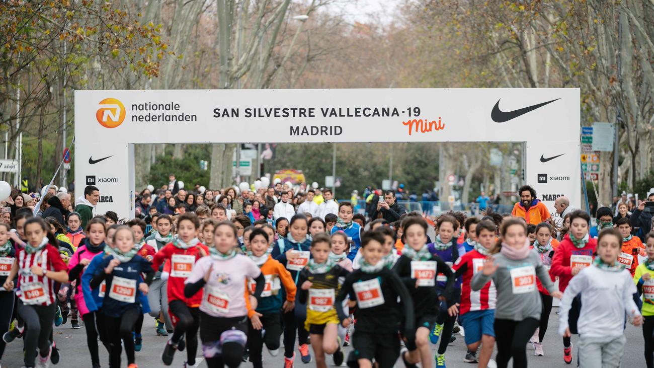 La San Silvestre Vallecana Mini establece su nuevo récord de participación