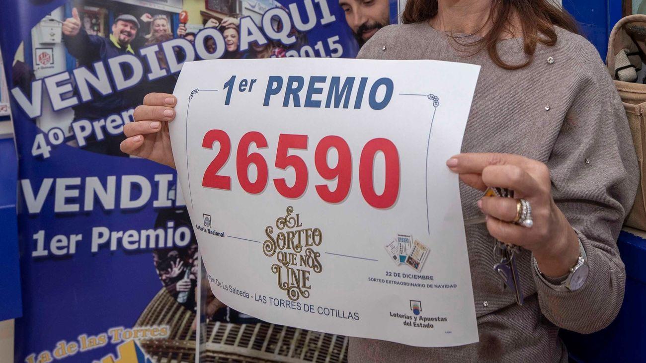 Los últimos Gordos de la Lotería de Navidad y lo que se llevó Madrid