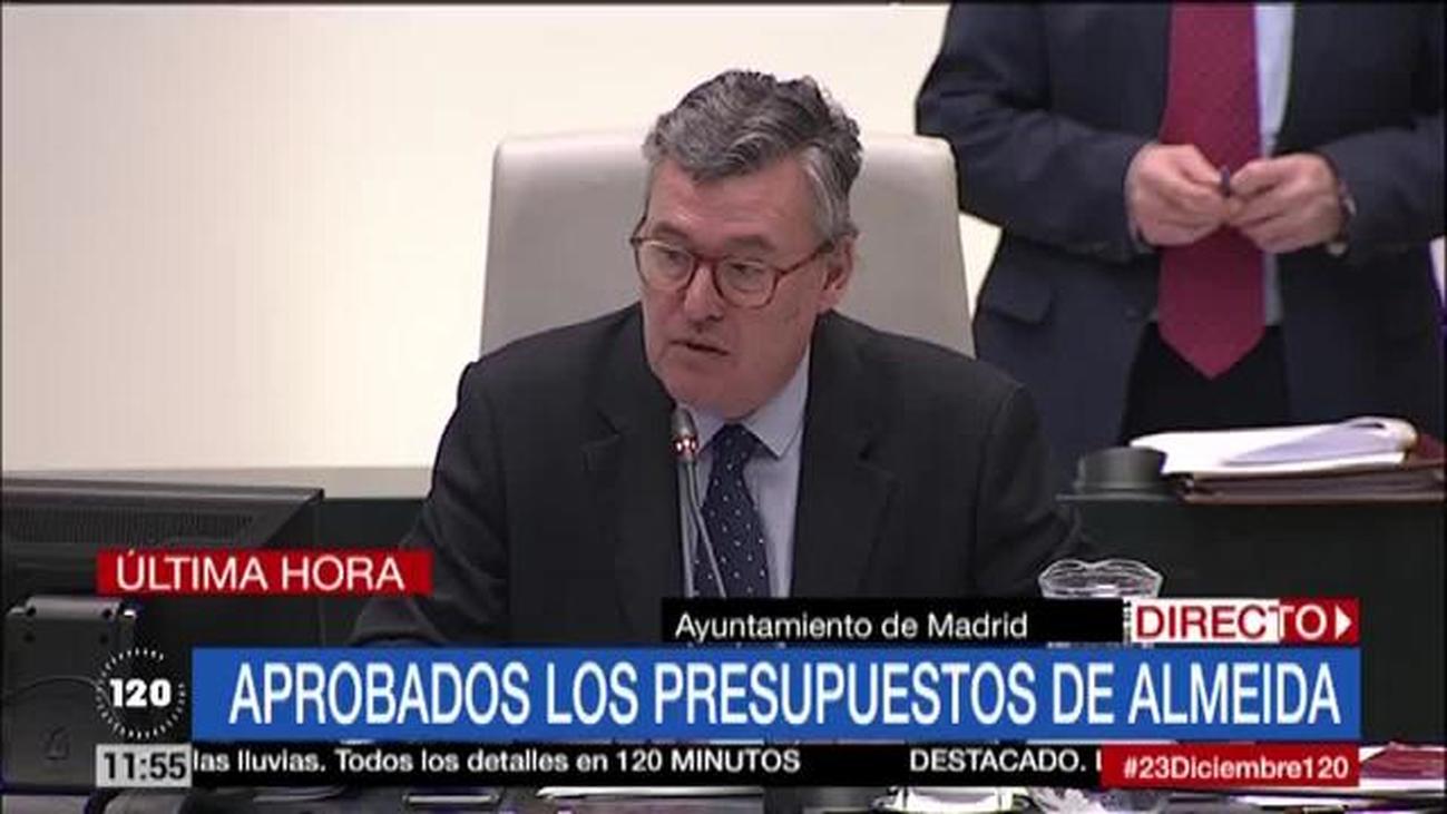 Madrid saca adelante los presupuestos sin Vox y la ausencia de un edil de Más Madrid