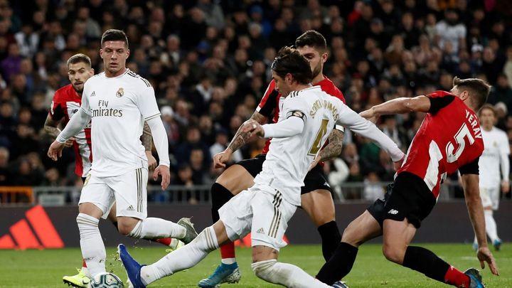 0-0. El Real Madrid acusa su falta de pegada ante el Athletic