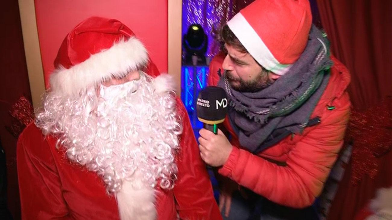 Papá Noel también tiene su cabalgata
