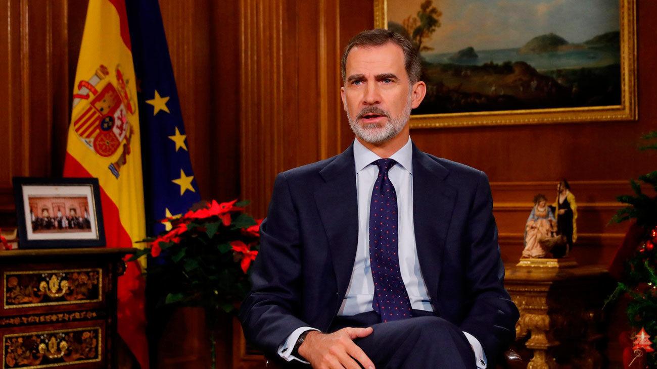 Felipe VI pide a los españoles unidad y confianza ante los retos del futuro