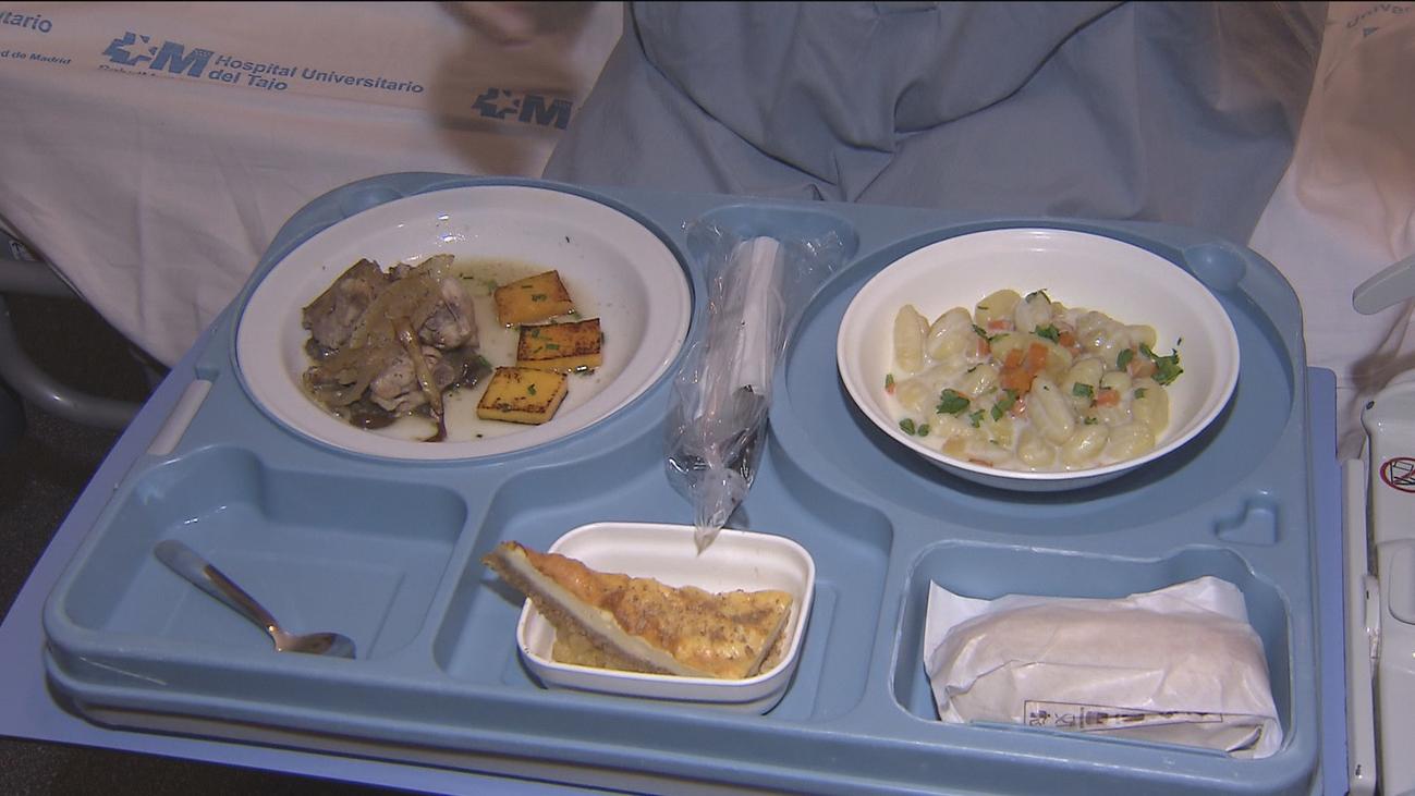 Un menú ganador para hacer más llevadera la Navidad en el Hospital